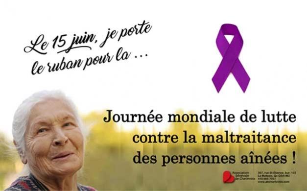 15 juin: Journée mondiale de lutte contre la maltraitance des aînés