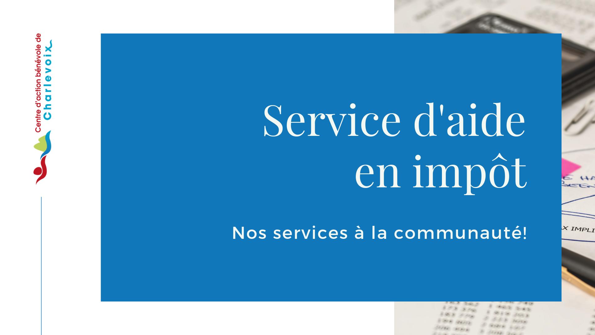 16 service d aide en impot benevole service charlevoix