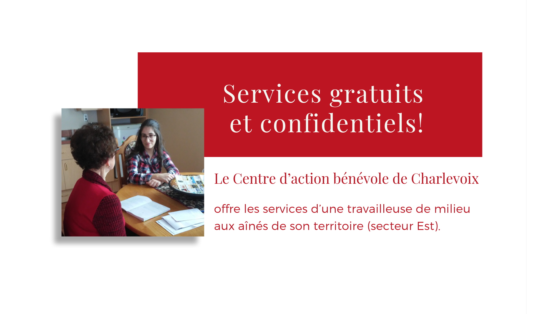 23 service gratuits et confidentiels aines territoire charlevoix