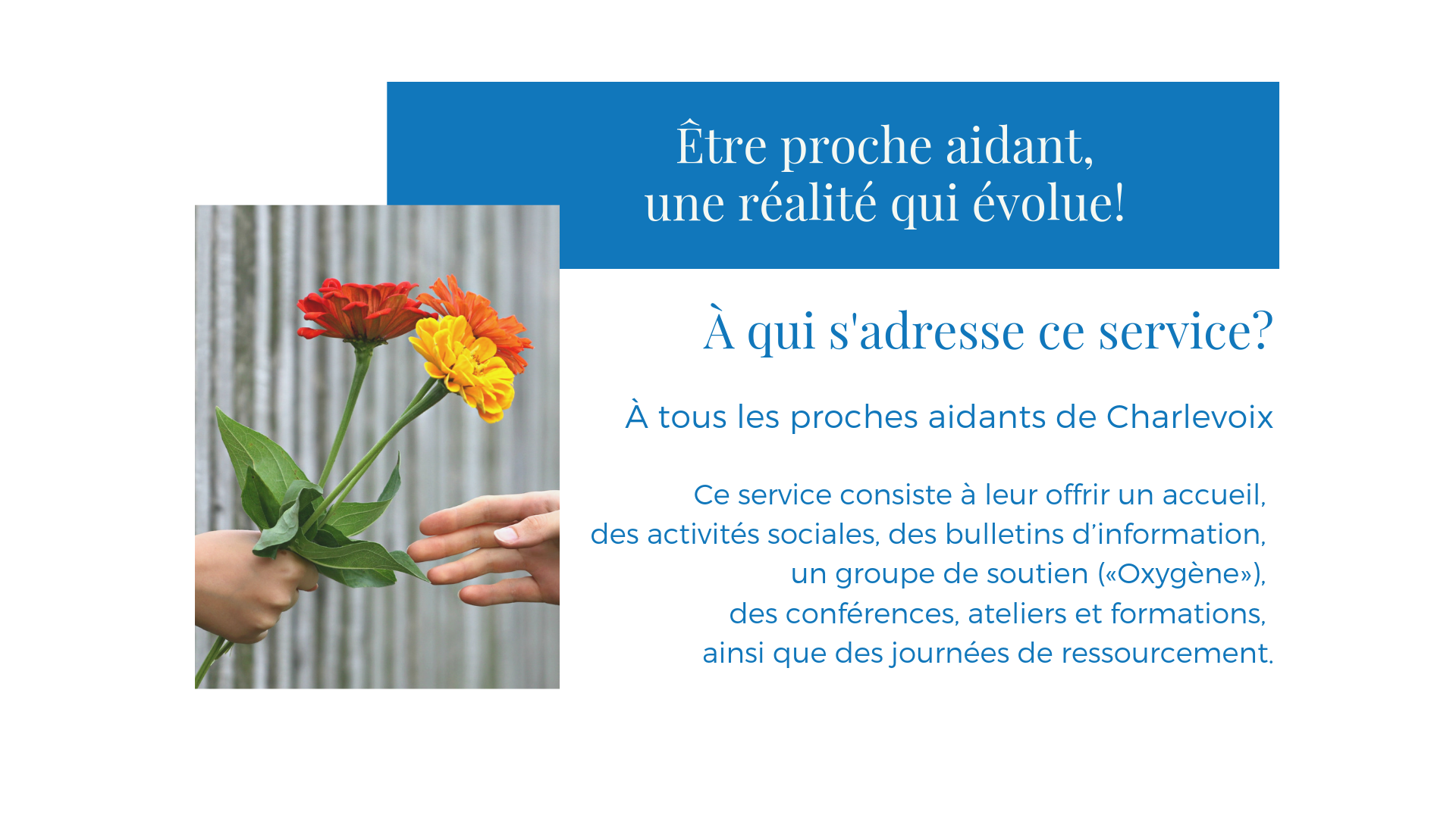 29 proches aidants services oxygene ateliers formation conference