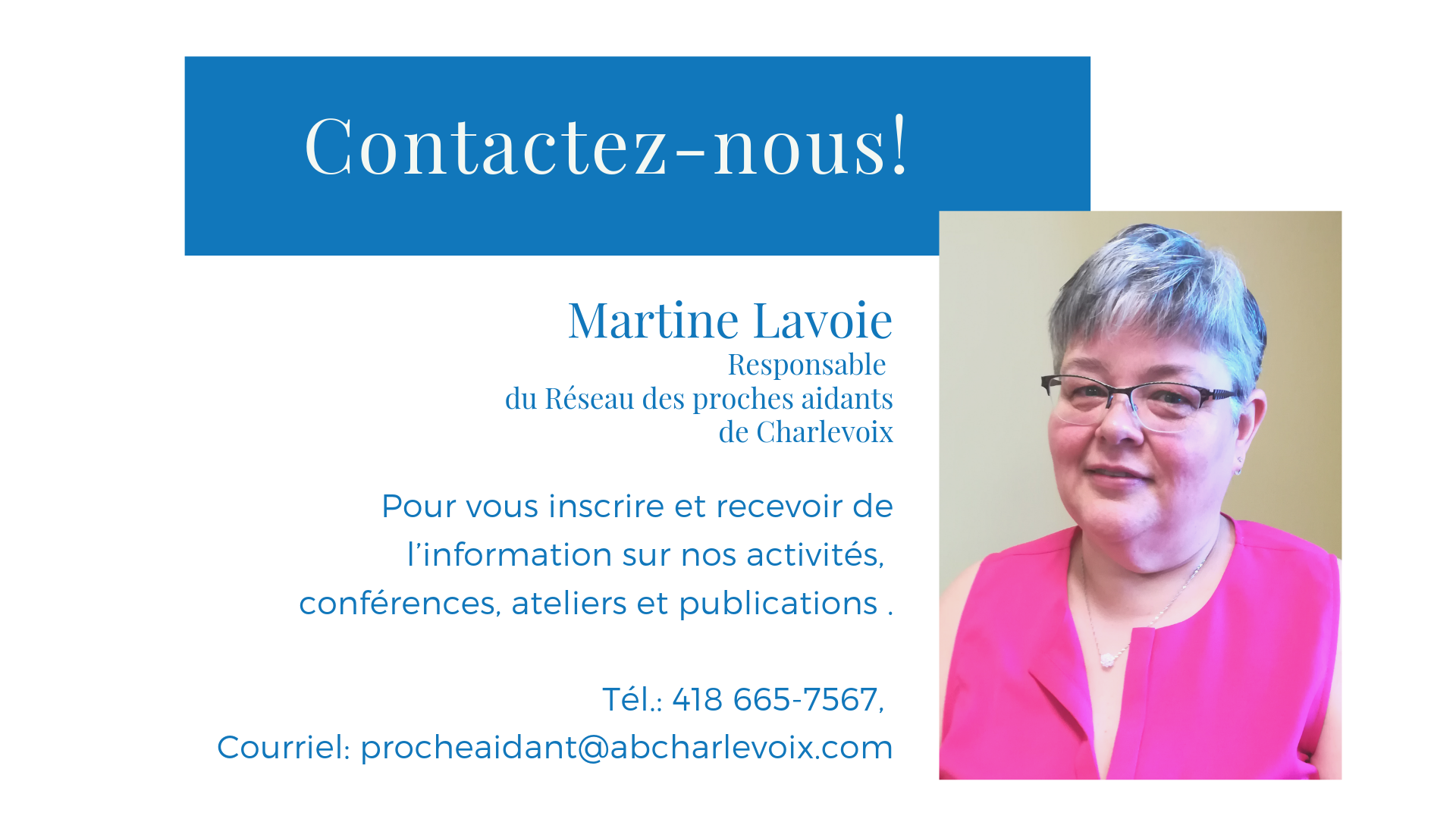 36 proches aidants martine lavoie information conference atelier