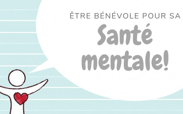 Être bénévole pour sa santé mentale!